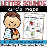 Alphabet Circle Maps   Letter Sounds Circle Maps   Beginni
