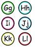 Alphabet Circles