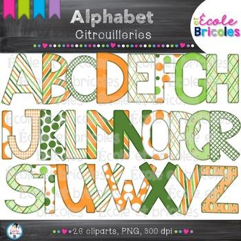 Alphabet-Docudéco Citrouilleries/Pumpkin alphabet