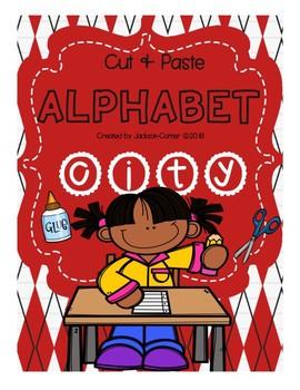 Alphabet City Cut and Paste
