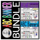 Alphabet Classroom Banners Bundle: Cursive and Manuscript