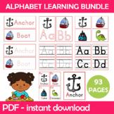 Alphabet Classroom Bundle Instant Download PDF; Preschool,