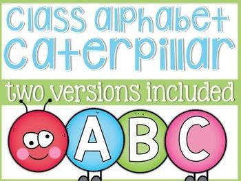 Alphabet Classroom Caterpillar