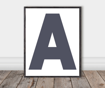 Alphabet Classroom Cut-Out Posters: Earthy