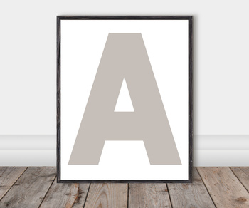 Alphabet Classroom Cut-Out Posters: France