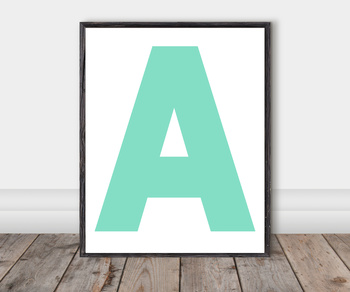 Alphabet Classroom Cut-Out Posters: Lily Pad