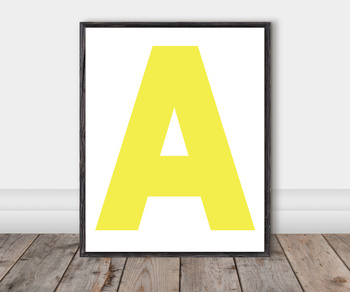 Alphabet Classroom Cut-Out Posters: Orchard