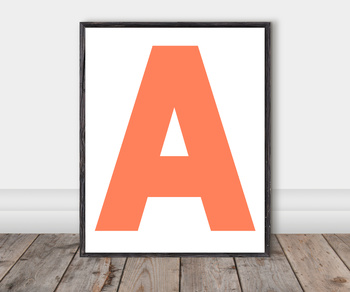 Alphabet Classroom Cut-Out Posters: Poppy