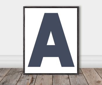Alphabet Classroom Cut-Out Posters: Tapestry