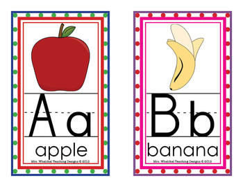 Alphabet Classroom Display