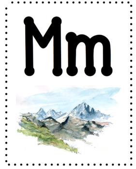 Alphabet Classroom Poster