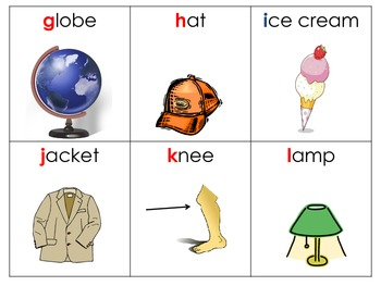 Alphabet Classroom Scavenger Hunt