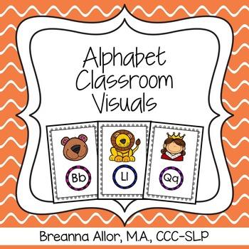 Alphabet Classroom Visuals