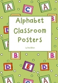 Alphabet Classroom Wall Display Posters
