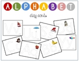 Alphabet Trace and Clay Cards