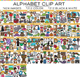 Alphabet Clip Art {Beginning Sounds Clip Art}