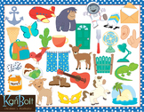 Alphabet Clip Art HUGE BUNDLE