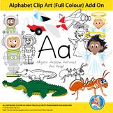 """Alphabet Clip Art   Add on """"Aa"""""""