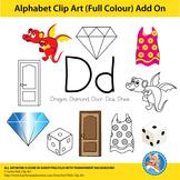 """Alphabet Clip Art   Add on """"Dd"""""""