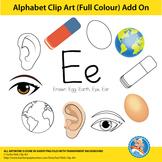 "Alphabet Clip Art   Add on ""Ee"""