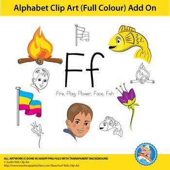 "Alphabet Clip Art | Add on ""Ff"""