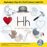 "Alphabet Clip Art   Add on ""Hh"""