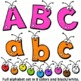 Clip Art Alphabet Letters | Clipart Bugs ABCs and numbers