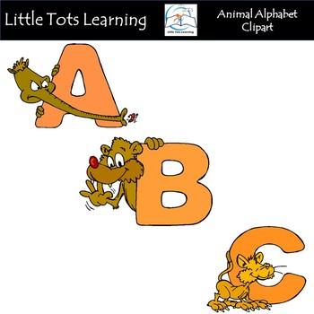 Alphabet Clip Art - Animal Alphabet Clip Art