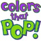 Alphabet Letters Clip Art - Bright Colors