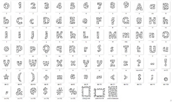 Alphabet Clipart Bulletin Board Letter Set with Black-line Snowmen