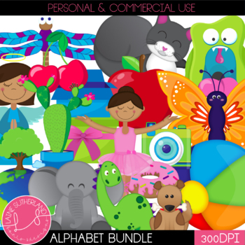 Alphabet Clip Art Complete Bundle