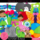 Alphabet Clip Art Complete Bundle
