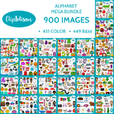 Alphabet Clip Art Bundle
