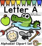 Alphabet Clip Art: Letter A Phonics Clipart Set - Clip Art - FREE!