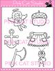 Alphabet Clip Art: Letter A - Phonics Clipart Set - Personal or Commercial Use