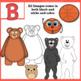 Alphabet Clip Art: Letter B - Phonics Clipart Set - Personal or Commercial Use