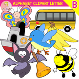 Alphabet Clip Art Letter B-Set