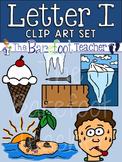 Alphabet Clip Art - Letter I