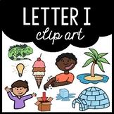 Alphabet Clip Art: Letter I