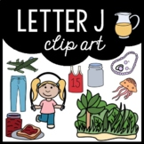 Alphabet Clip Art: Letter J