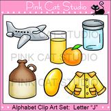 Alphabet Clip Art: Letter J - Phonics Clipart Set - Personal or Commercial Use