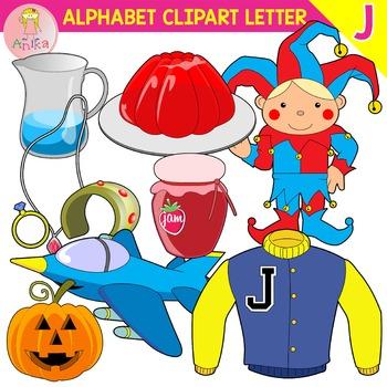Alphabet Clip Art Letter J-Set