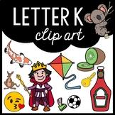 Alphabet Clip Art: Letter K