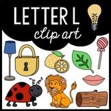 Alphabet Clip Art: Letter L