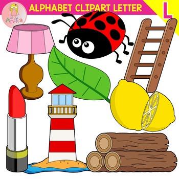 Alphabet Clip Art Letter L-Set