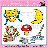 Alphabet Clip Art: Letter M - Phonics Clipart Set - Personal or Commercial Use