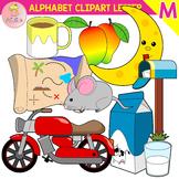 Alphabet Clip Art Letter M-Set