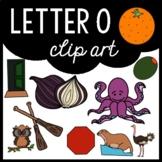 Alphabet Clip Art: Letter O