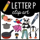 Alphabet Clip Art: Letter P