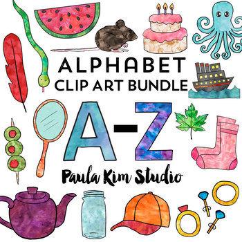 Phonics Clip Art VALUE BUNDLE A-Z